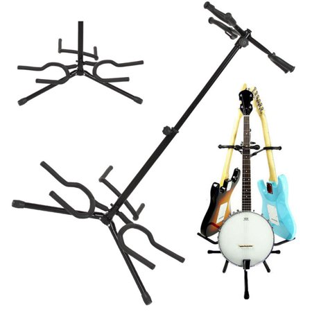 Zimtown Electric Acoustic Guitar Bass Stand 3 Holder