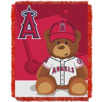 Los Angeles Angels The Northwest Company 36'' x 46'' Baby Jaquard Throw - No Size