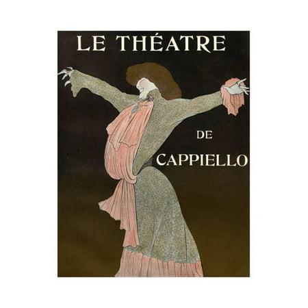 Front Cover of 'Le Theatre' Magazine, 1903 Print Wall Art By Leonetto Cappiello