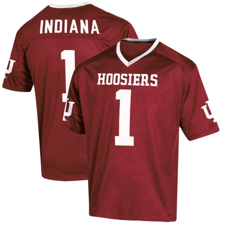 Indiana Hoosiers Replica Helmet (Youth Russell Crimson Indiana Hoosiers Replica Football)