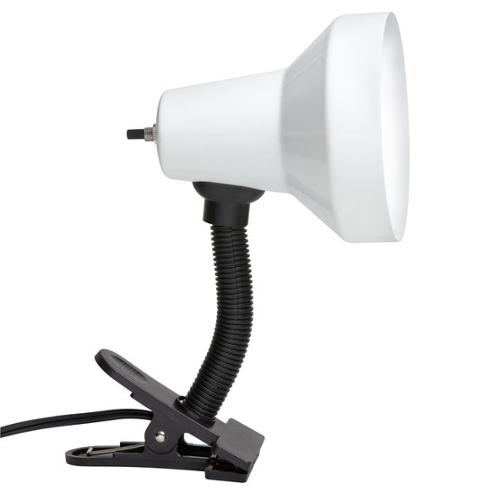 Dainolite Single-light Gooseneck Clip-on Lamp by