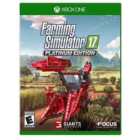 Focus Home Interactive MAXIMUM GAMES Farming Simulator 17 - Platinum  Edition for Xbox One