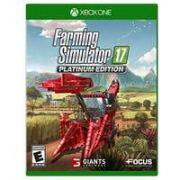 Focus Home Interactive MAXIMUM GAMES Farming Simulator 17 - Platinum Edition for Xbox One