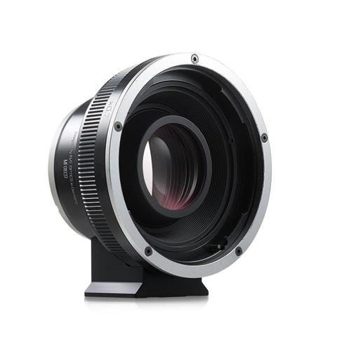 Kipon Baveyes 0.7x Optical Focal Reducer Lens Adapter For Hasselblad V Mount Lens to Sony E-Mount Camera by Kipon