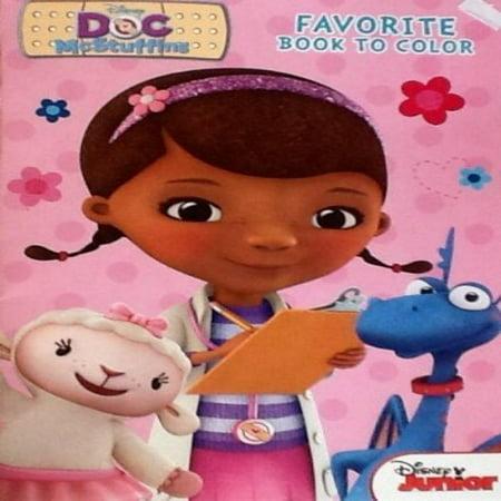 Disney Junior Doc McStuffins Coloring Book: 32 Pages!!! Tear & Share ...