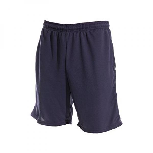 Zippy Sports Men's Shorts with Zippered Pockets (Navy Blu...