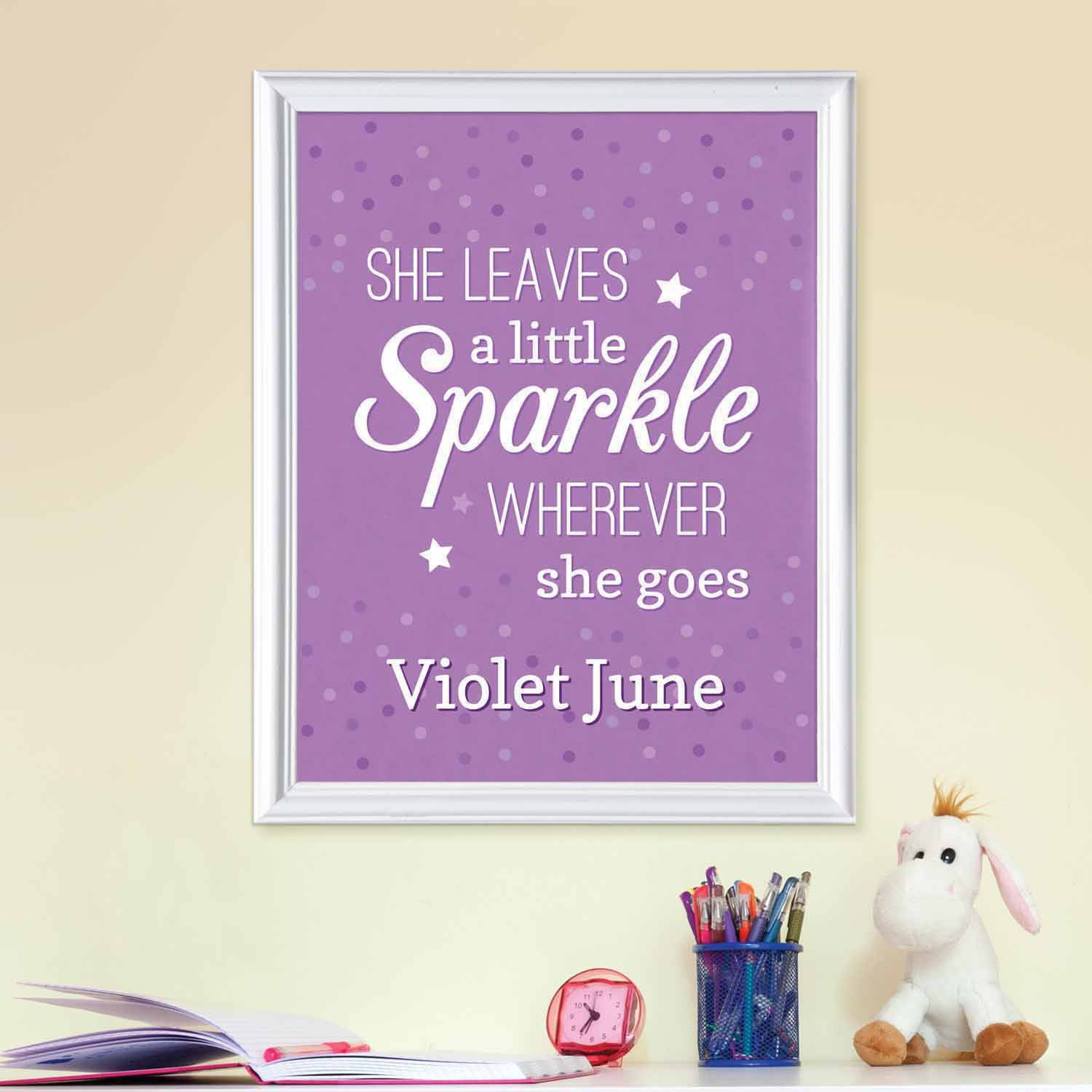 Personalized Sparkle of Our Eye Print