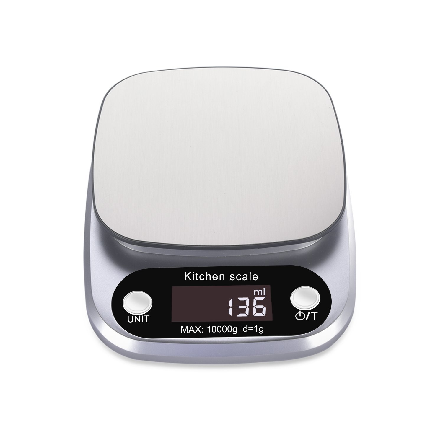 Rophie Accurate Digital Kitchen Scale 19lb 10Kg Small Food Scale ...