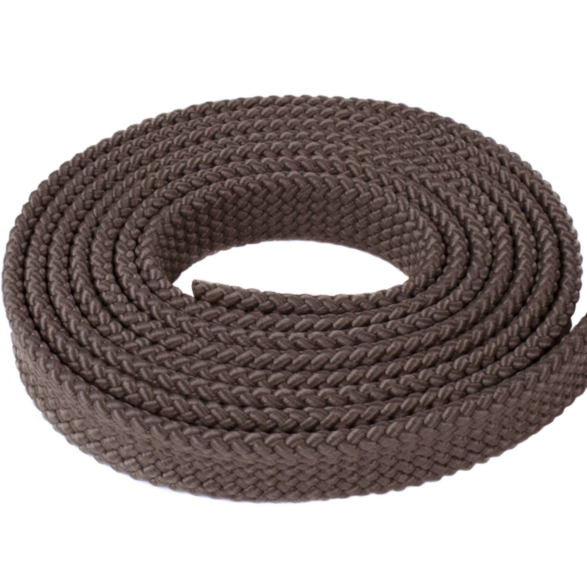 "PolyPro Soft 1"" MFP Hollow Flat Braid Rope - Multiple Colors and Lengths - Easy to Splice and Seal"