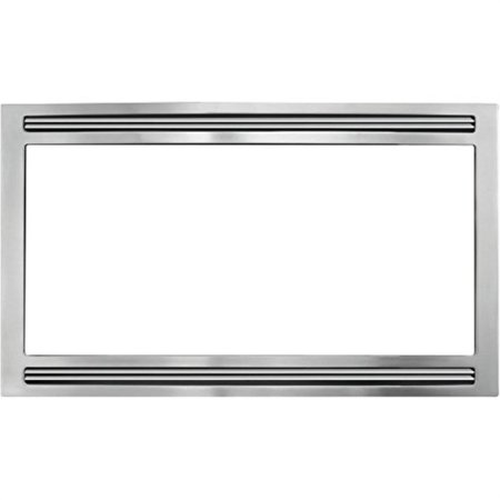 frigidaire - mwtkp27kf - professional series microwave trim kit - 27-inch/ stainless steel