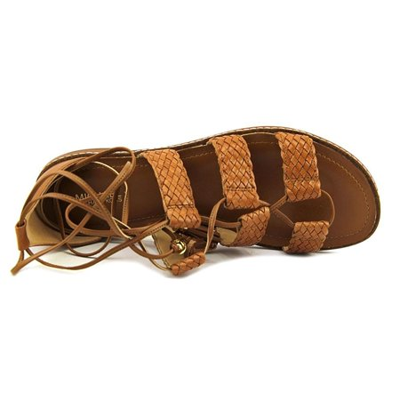 d67af90d650 MICHAEL Michael Kors - MICHAEL Michael Kors Womens Monterey Leather Open  Toe Casual Gladiator Sandals - Walmart.com