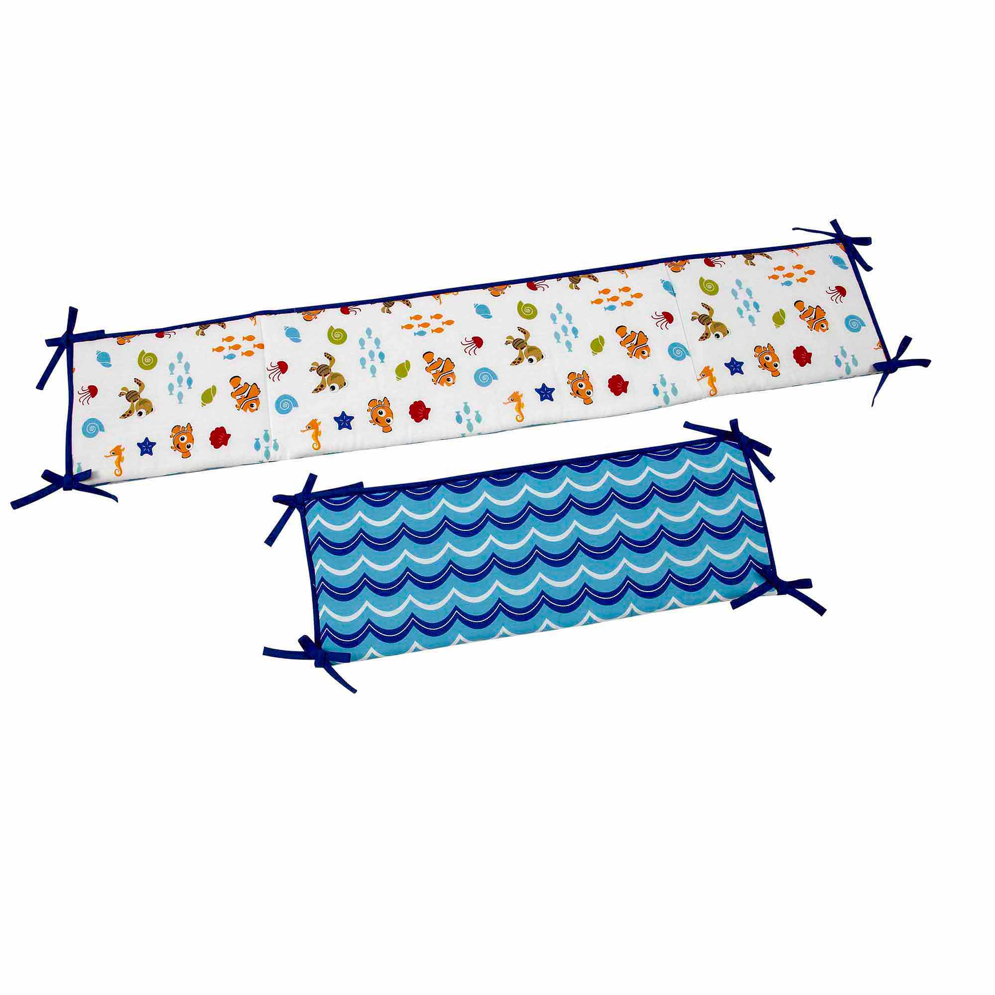 Disney Baby Bedding Nemo's Wavy Days Crib Bumper