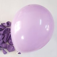 Latex Balloons Party Supplies, 12-inch, 12-piece, Lavender