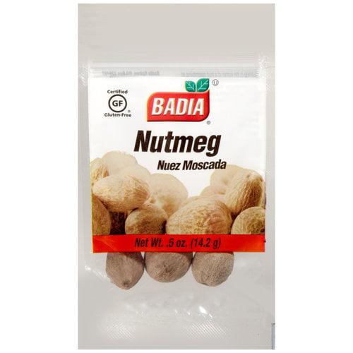 Badia Whole Nutmeg, .5 oz by Badia Spices Inc.