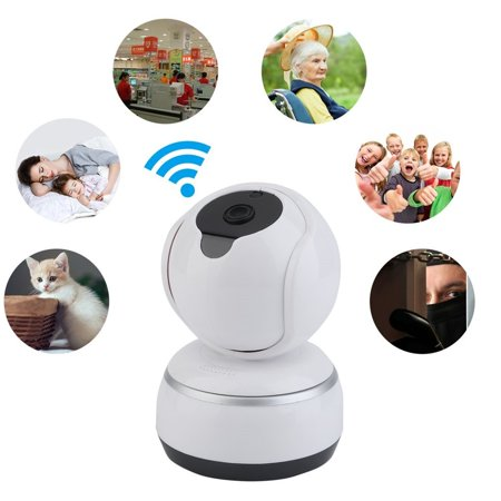 720p Home Camera, Indoor IP Security Surveillance System with Night