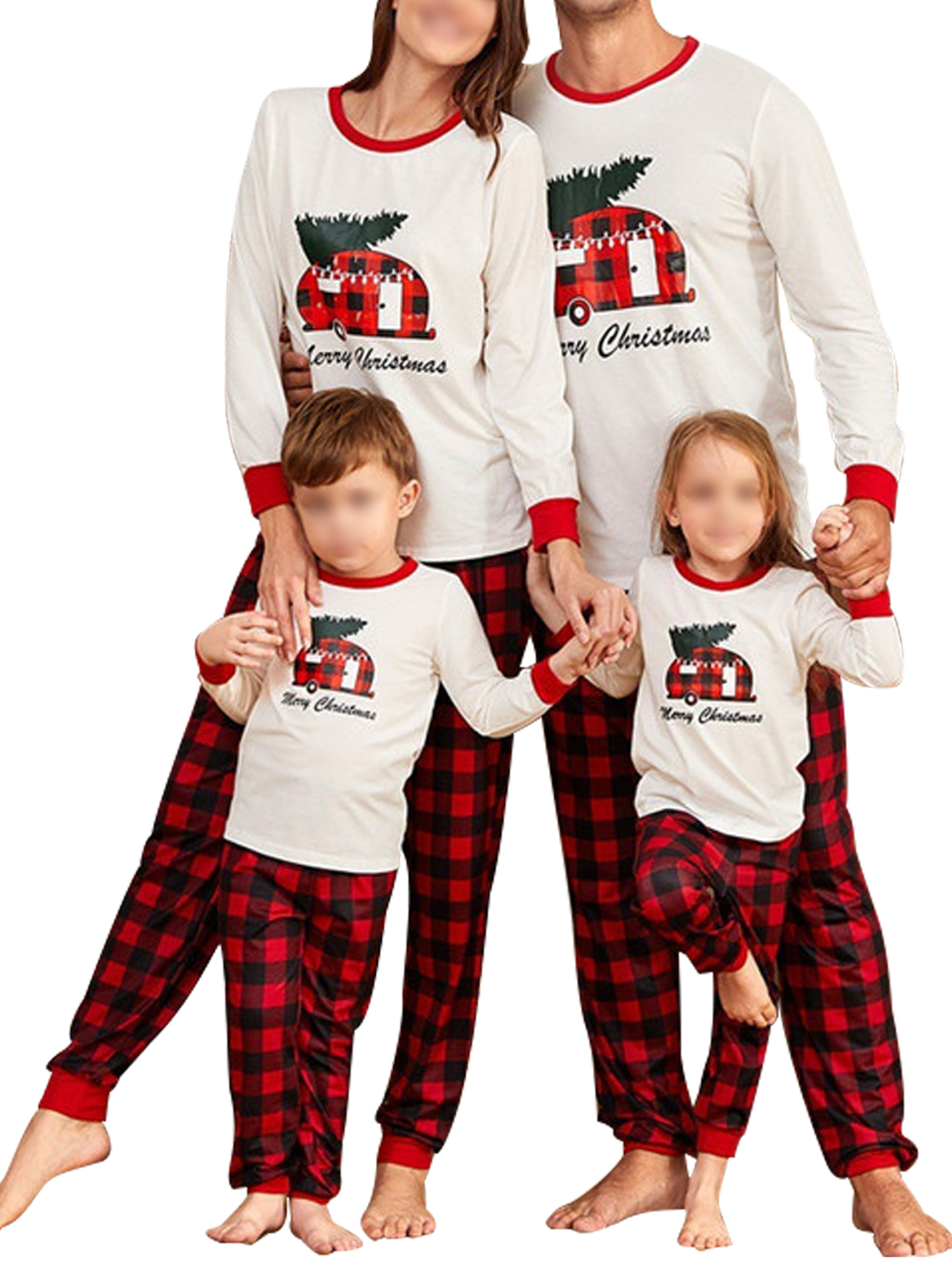 Details about  /Kids Men Women Outfit Clothes Nightwear Family Matching Pajamas Christmas  Set