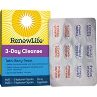 Renew Life Adult Total Body Reset Cleanse, 3-Day Program, 12 Capsules