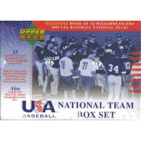 2005 Upper Deck 2004 USA Baseball National Team -