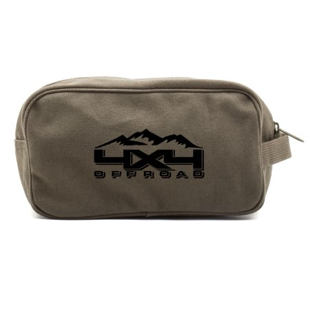 Off Road Canvas Shower Kit Travel Toiletry Bag