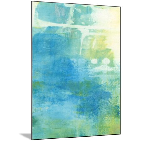 Lacuna I Wood Mounted Print Wall Art By Sue Jachimiec