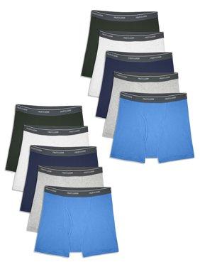 Fruit of the Loom Boys Underwear, Boxer Briefs Sizes 6/8 - 18/20 Husky