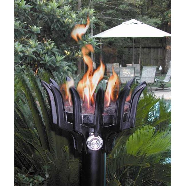 Gaslight America West-1 GL051 Malumai Hawaiian for Party Cast Aluminum Gas Powered Torch... by