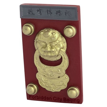 Kitchen Fridge Resin Chinese National Palace Museum Souvenir Magnet Sticker