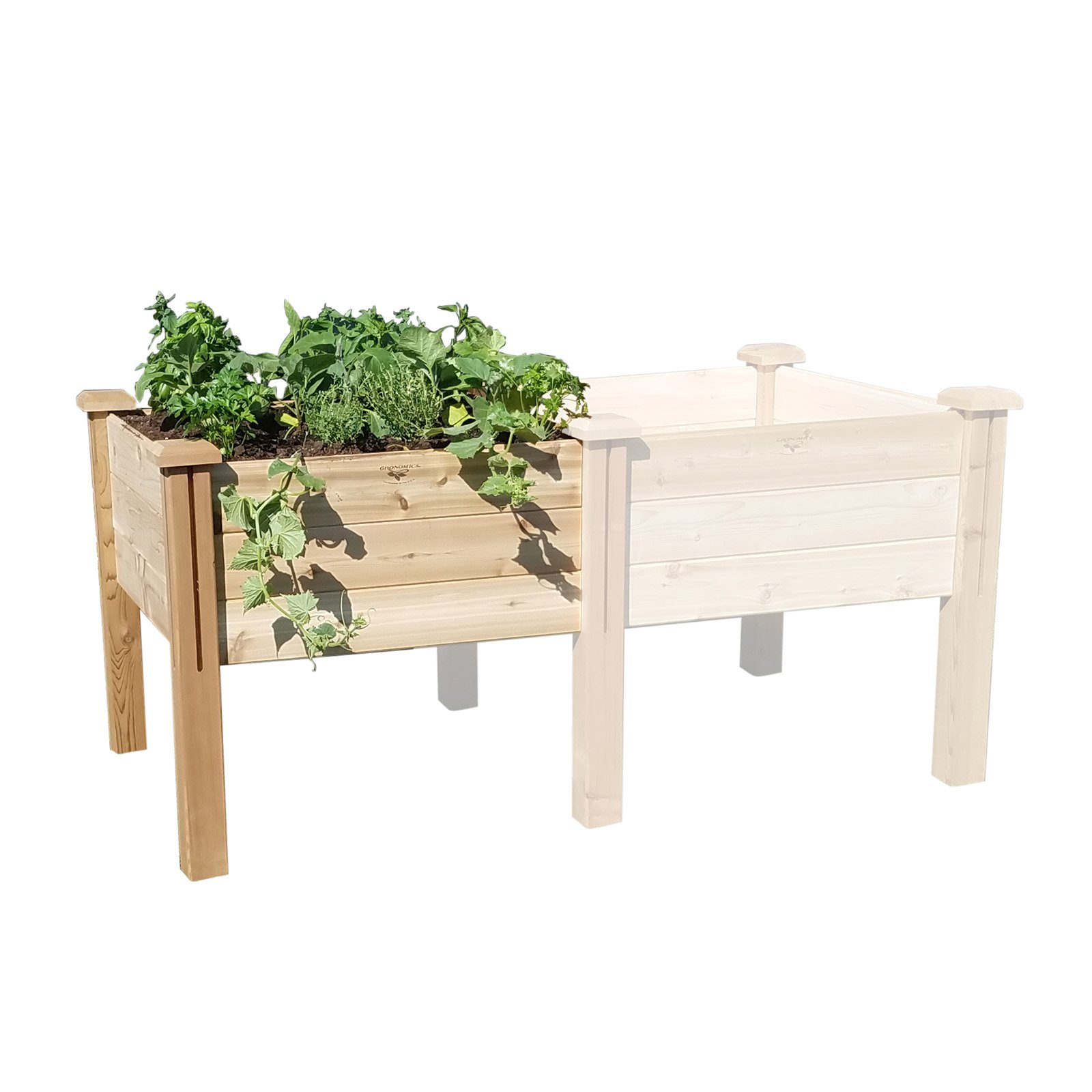 Gronomics Modular Elevated Garden Bed Extension Kit