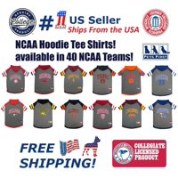 Pets First College Iowa State Cyclones Pet Hoodie Tee Shirt, 4 Sizes Available - Medium