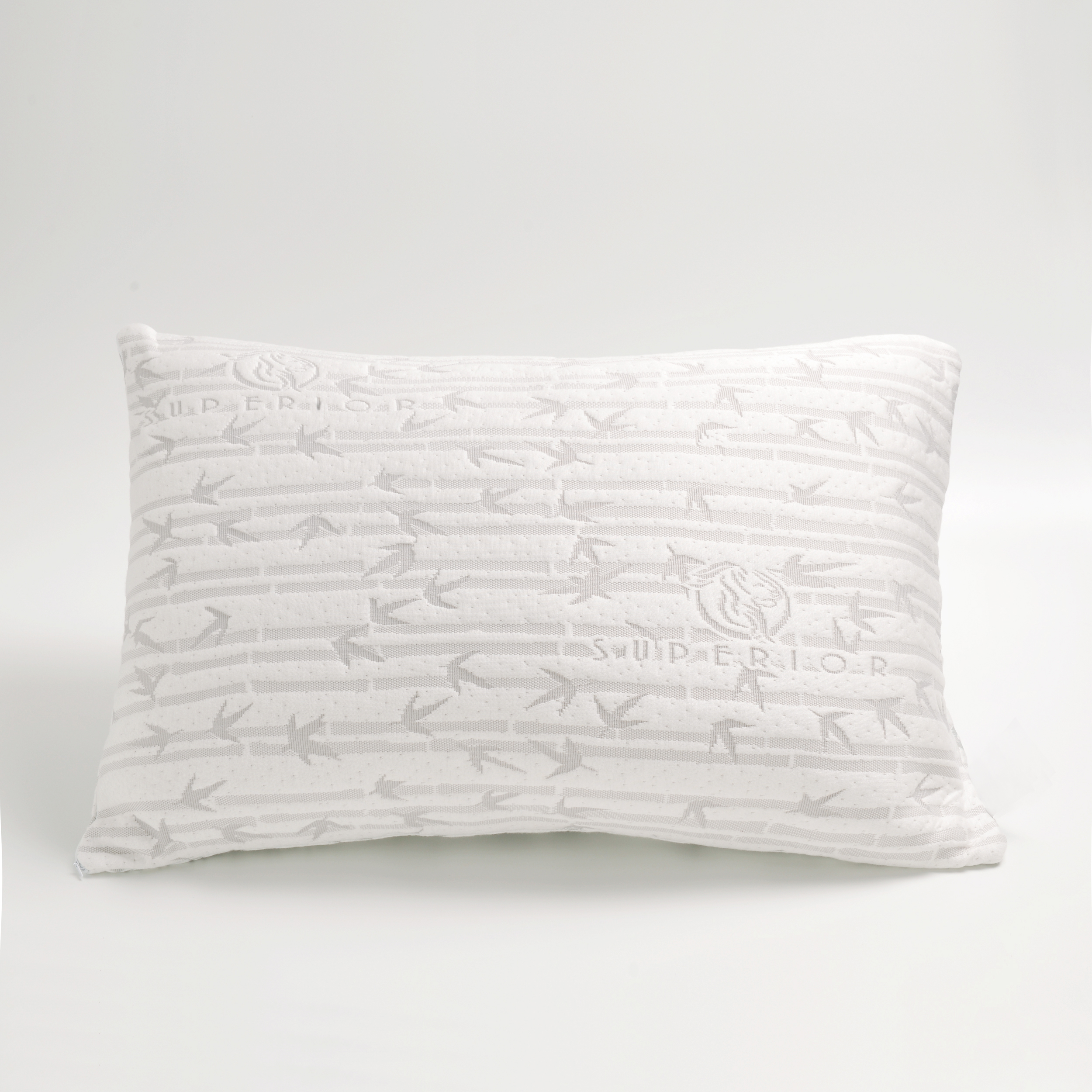 over superior free orders pillow foam from overstock reviews with shredded bath memory addb bamboo rayon on product cover shipping bedding