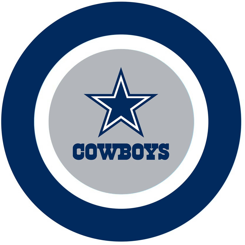 "NFL Cowboys 10"" Plate"