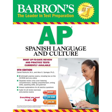 Barron's AP Spanish Language and Culture with MP3 CD & CD-ROM