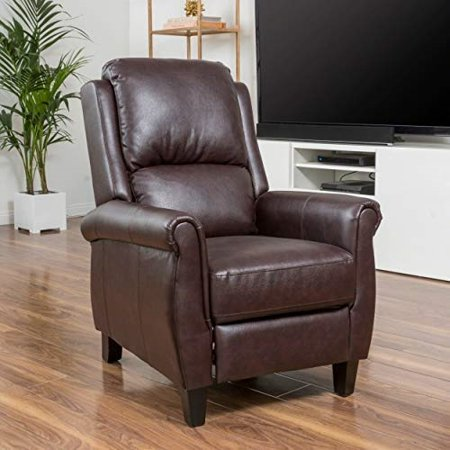 Great Deal Furniture Evan Pansy Memphis PU Leather Recliner Club