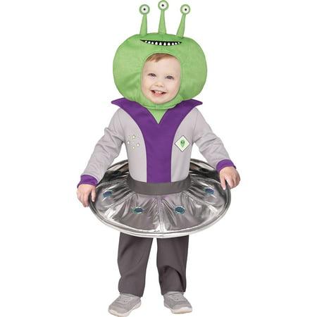 Sci Fi Costume (Kids Li'l Alien Toddler Sci Fi)