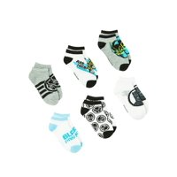 Black Panther Boys Socks, 6 Pack No Show (Little Boys & Big Boys)