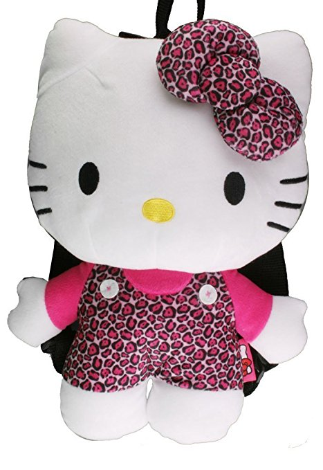 Hello Kitty Leopard Plush by