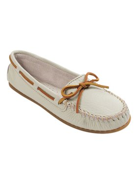 Women's Smooth Leather Moc