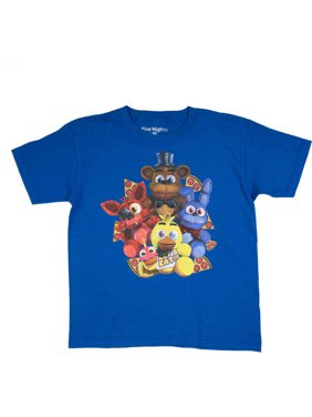 b04d8ea8a Product Image Pizza Group Royal Blue Cotton T-Shirt (Little Boys & Big Boys).  Five Nights at Freddy's