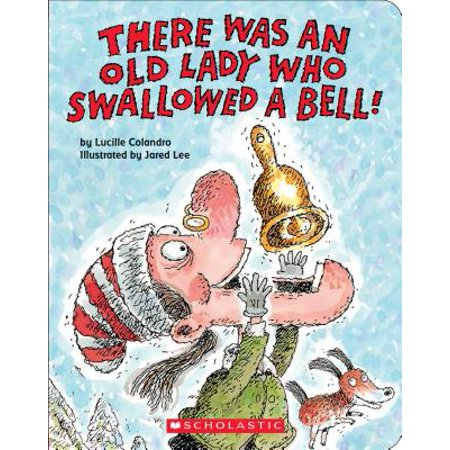There Was an Old Lady Who Swallowed a Be (Board Book) (A Who From Whoville)