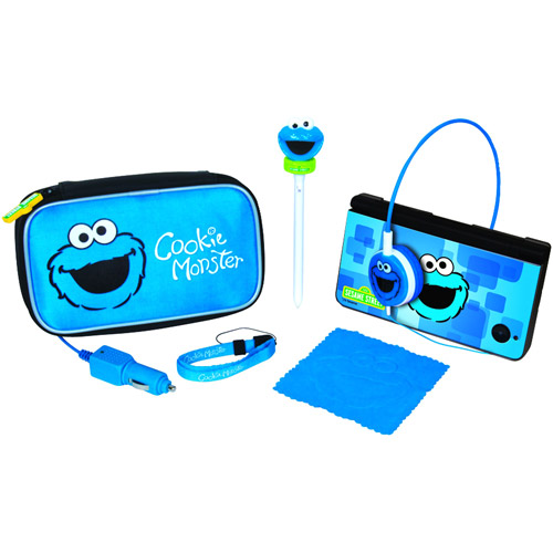 dreamGEAR Cookie Monster Travel Kit - Accessory kit - for Nintendo DS