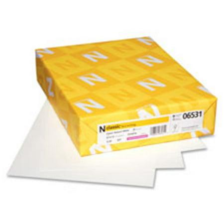 Neenah Paper Inc NEE06531 classique papier verg-, - 24, 8,5. X 11 po., 500sh-RM, Blanc - image 1 de 1