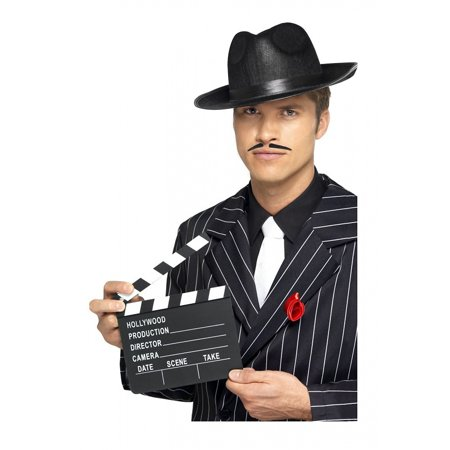 Hollywood Clapper Board Adult Costume - Costume Ideas Beard