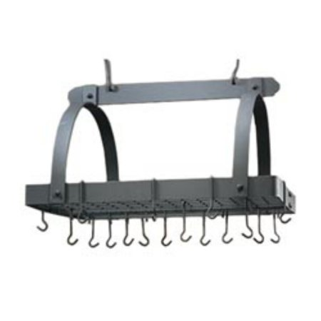 Verde Rectangular Pot Rack with Grid