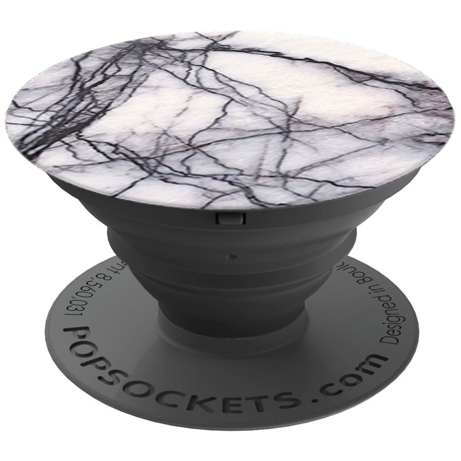 Cp Popsocket Phone Grip & Stand - White Marble- Accessory by PopSockets (101178)