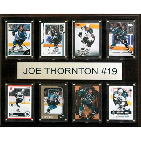 C&I Collectables NHL 12x15 Joe Thornton San Jose Sharks 8-Card (Joe Thornton San Jose Sharks)