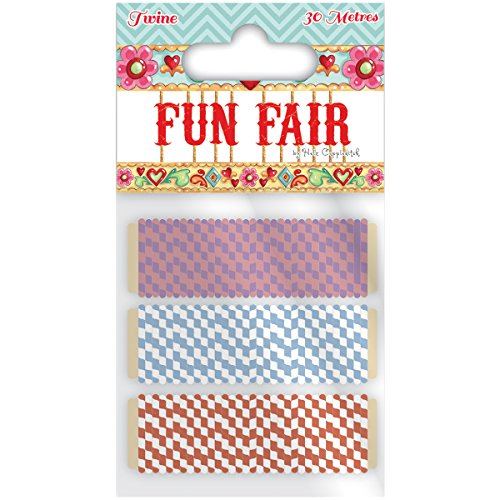 Trimcraft Helz Fun Fair Twine Multi-Colored