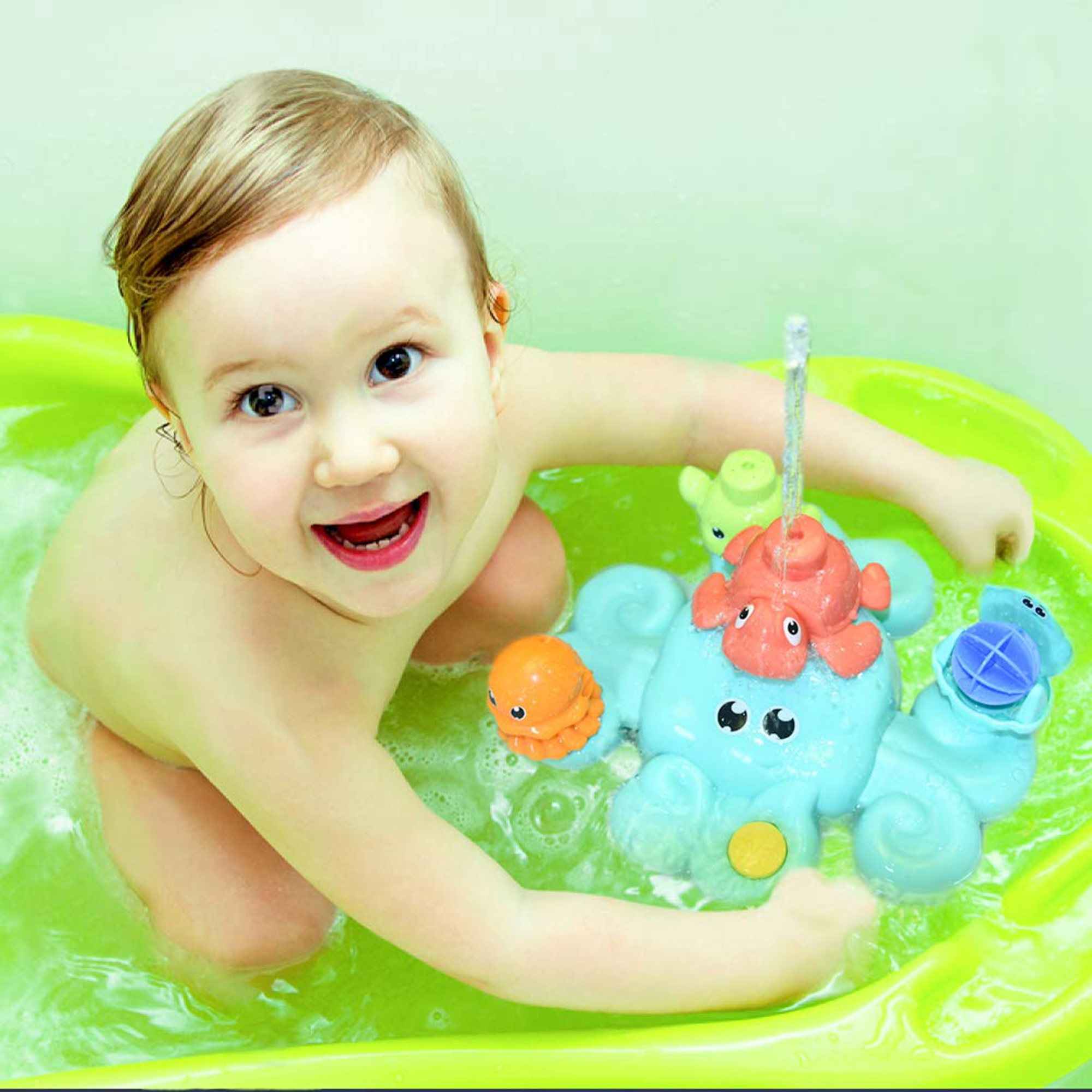 Bath Toys For Toddlers 5 Pcs Bath Tub Toys Set Spray Water Toys For Kids Best Gifts For Boys Girls F 363 Walmart Com Walmart Com