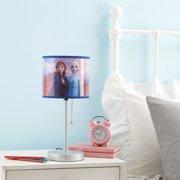 Disney Frozen 2 Kids Stick Lamp- Anna and Elsa
