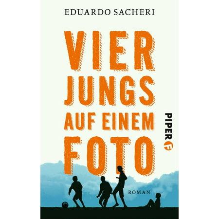 Vier Jungs auf einem Foto - eBook (Weiße Sonnenbrille Auf Jungs)