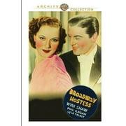 Broadway Hostess DVD by